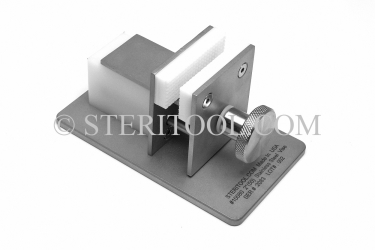 "#10080 - 2""(50mm) Stainless Steel Table Top Vise. vise, clamp, work holding, stainless steel, fabrication"