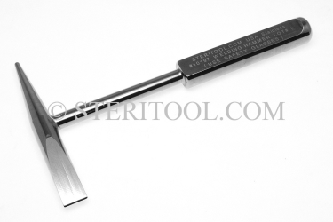 #10197 - Stainless Steel Welding/Chipping Hammer. welding, chipping, hammer, stainless steel