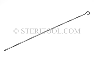 "#40000 - 17-1/2""(440mm) Stainless Steel Pointer. pointer, pick, probe, stainless steel"