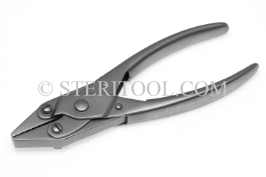 "#10012 - 6""(150mm) Stainless Steel Parallel Jaw Pliers. parallel jaw, pliers, stainless steel"