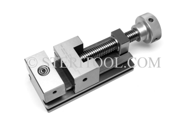 "#10090 - 2.75""(70mm) X3.15""(80mm) STAINLESS STEEL MACHINE VISE. 54HRC. Tolernces = 0.0002""(.005mm). vise, clamp, work holding, stainless steel, fabrication"