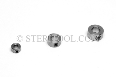 "#23050 - 1/16""(.0-.06"" / 0-1.5mm) Stainless Steel Drill Stop. drill stop, drill bit, fabrication, hole, stainless steel"