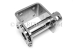 "#20461 - 4"" Stainless Ratchet Tie down Winch. Vertical Up mount, Bolt or Weld On. - 20461"
